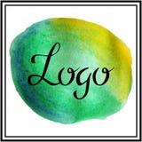 Lett del wc del logotipo Fotos de archivo