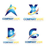 Letter Logo Designs Royalty Free Stock Photo