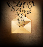 Letter Royalty Free Stock Photos