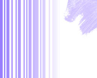 Letter. Background with very soft shades of blue or purple. Good for websites, newsletter, or any design related to art, delicacy, luxury Stock Photography