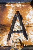 Letter A Royalty Free Stock Image