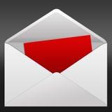 Letter. High resolution image  letter. 2d illustration over  black backgrounds Stock Photos