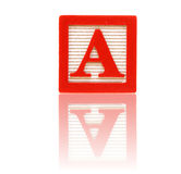 Letter a Royalty Free Stock Photos