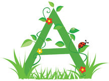 Letter A Stock Photography