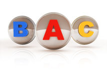 Letter abc Stock Image