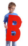 Letter B Stock Images