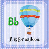 Letter B Royalty Free Stock Images