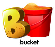 A letter B for bucket Stock Photos