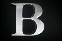 The Letter B Stock Photography