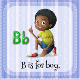Letter B Royalty Free Stock Photo