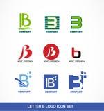 Letter B Icon Logo Set Stock Vector Illustration Of Identity 59823465