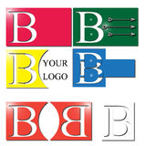Letter B Logo Royalty Free Stock Photography