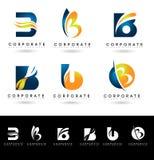 Letter B Logo Designs Stock Photo