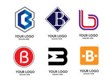 Letter B logo royalty free illustration
