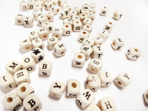 Letter Beads Stock Images