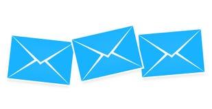 Letter blue Stock Image