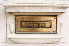 Letter Box Stock Photos