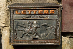 Letter box. Royalty Free Stock Images