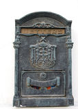 Letter-box. Photo of old vintage letter-box royalty free stock photos