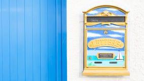 Letter box decored Stock Image