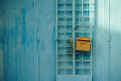 Letter box with door in Malacca, Malaysia Royalty Free Stock Photo