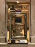 Grand Central Terminal letter box stock images