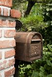 Letter Box, Tree, Garden, Masonry Oven stock photos
