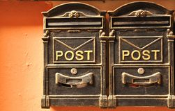 Letter box Royalty Free Stock Images