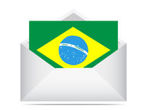 Letter of brazil Royalty Free Stock Photo
