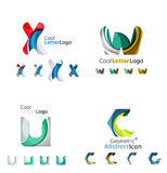 Letter business emblem collection Royalty Free Stock Image