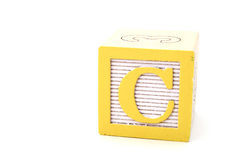 Letter c Royalty Free Stock Photo