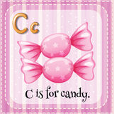 Letter C is for candy Royalty Free Stock Photo