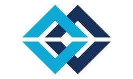 Letter C, CC Modern Logo. Logo Design Template Vector royalty free illustration