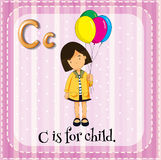 Letter C Stock Photography