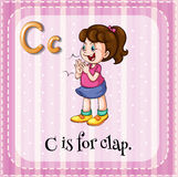 Letter C Stock Photo