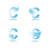 Letter C logo Royalty Free Stock Image