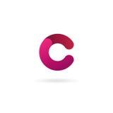 Letter C logo. Vector icon design template. Color sign. Letter C logo icon. Vector design template for your company Stock Photos