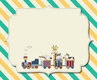 Letter card- Royalty Free Stock Image