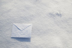 Letter. For Christmas, New year holidays Royalty Free Stock Photos