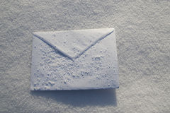 Letter. For Christmas, New year holidays Stock Photography