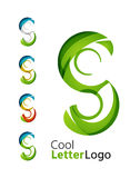 Letter company logo stock illustration