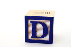 Letter d Royalty Free Stock Photography