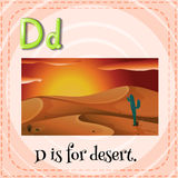 Letter D Stock Photography