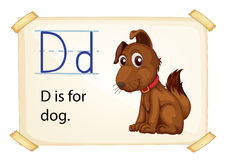 Letter D Royalty Free Stock Images