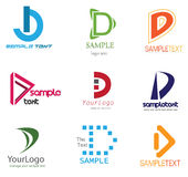 Letter D Logo Royalty Free Stock Images