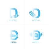 Letter D logo Stock Photos