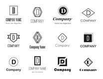 Letter D (dee) logos Stock Photos