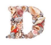 Letter D Stock Image