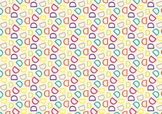 Letter D pattern in different colored shades pattern. Background used as wallpaper vector illustration