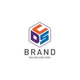 Letter DSC, DCS, CSD, CDS logo Stock Images
